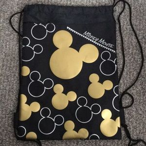 Mickey Mouse drawstring napsack